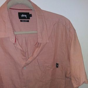 Flawless auth STUSSY , chambray Ss button up